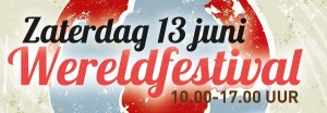 Zaterdag 13 juni Wereldfestival